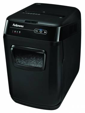 Шредер Fellowes AutoMax 130C (секр.P-3)/фрагменты/130лист./32лтр./пл.карты